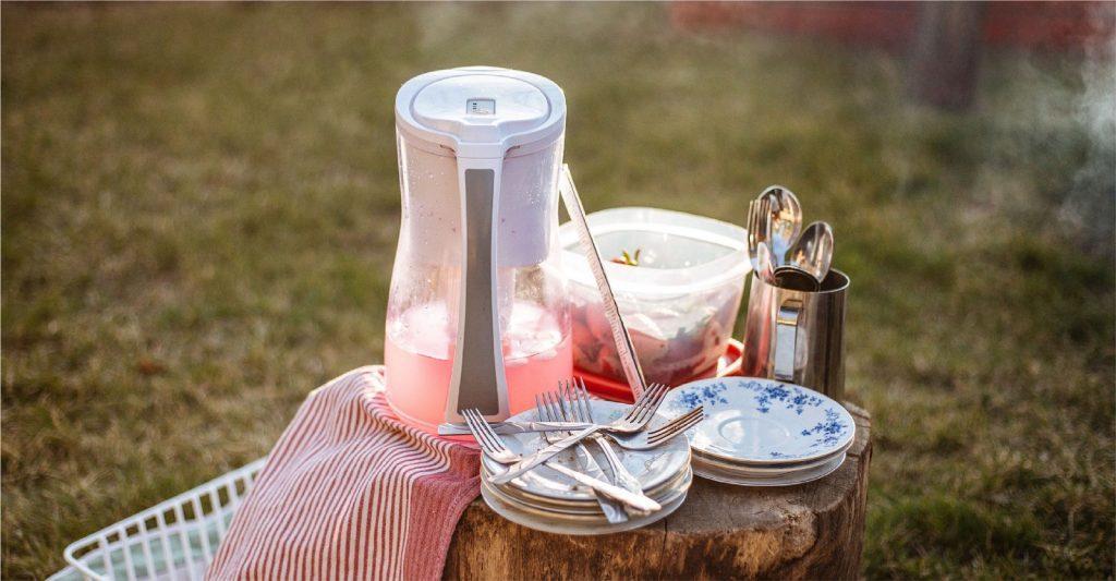 un picnic en campo gallego