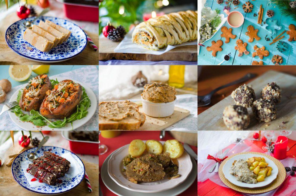 Recetas Veganas para una Navidad sostenible