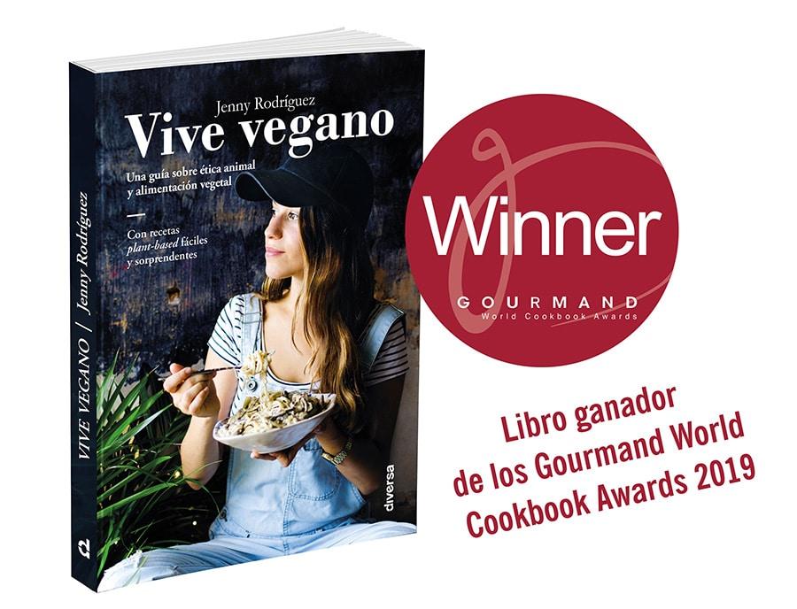 Libro sostenible: Vive Vegano de Jenny Rodríguez