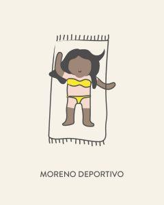 Moreno deportivo